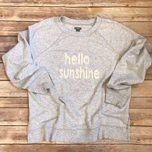 Aerie 'Hello Sunshine' Pullover Sweatshirt Size S